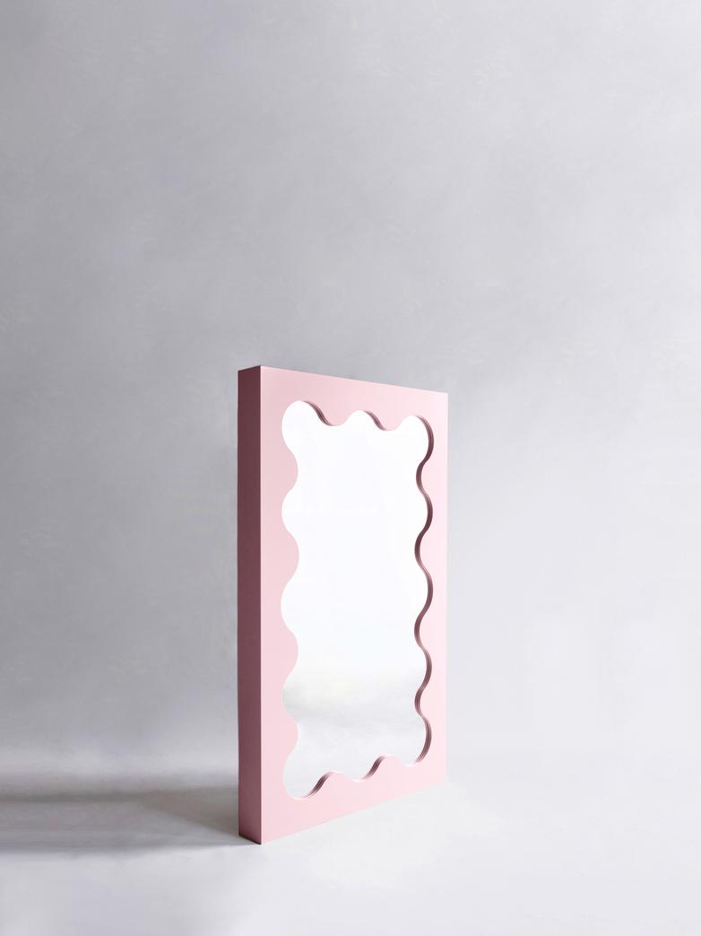 Curvy Mirror Mini - Pink