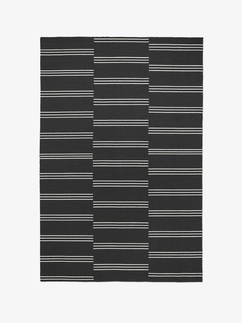 Stripes Anthracite/Cream