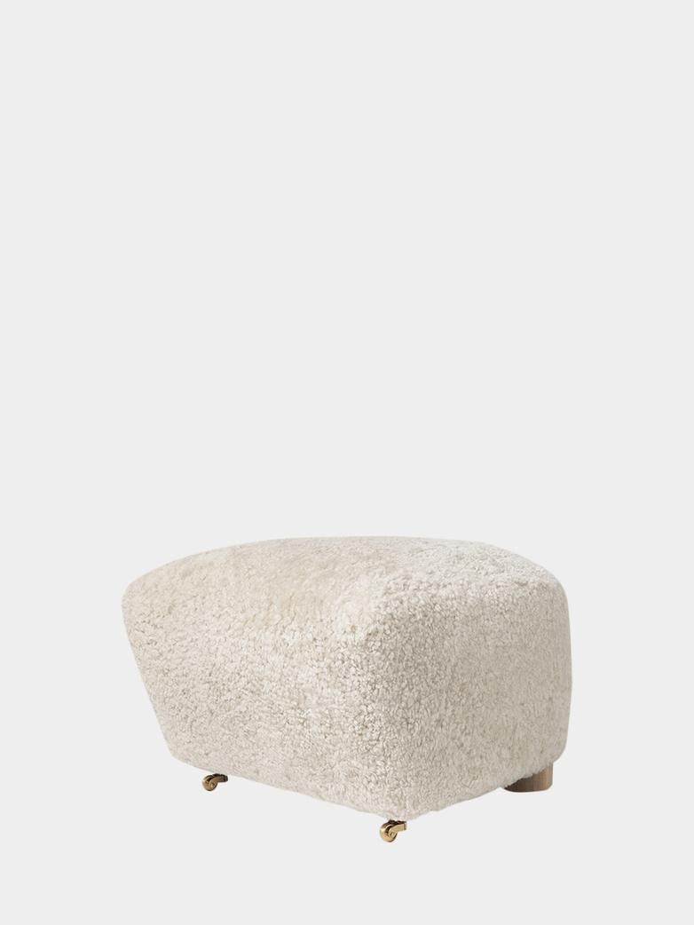 Sheepskin Off White - Natural Oak