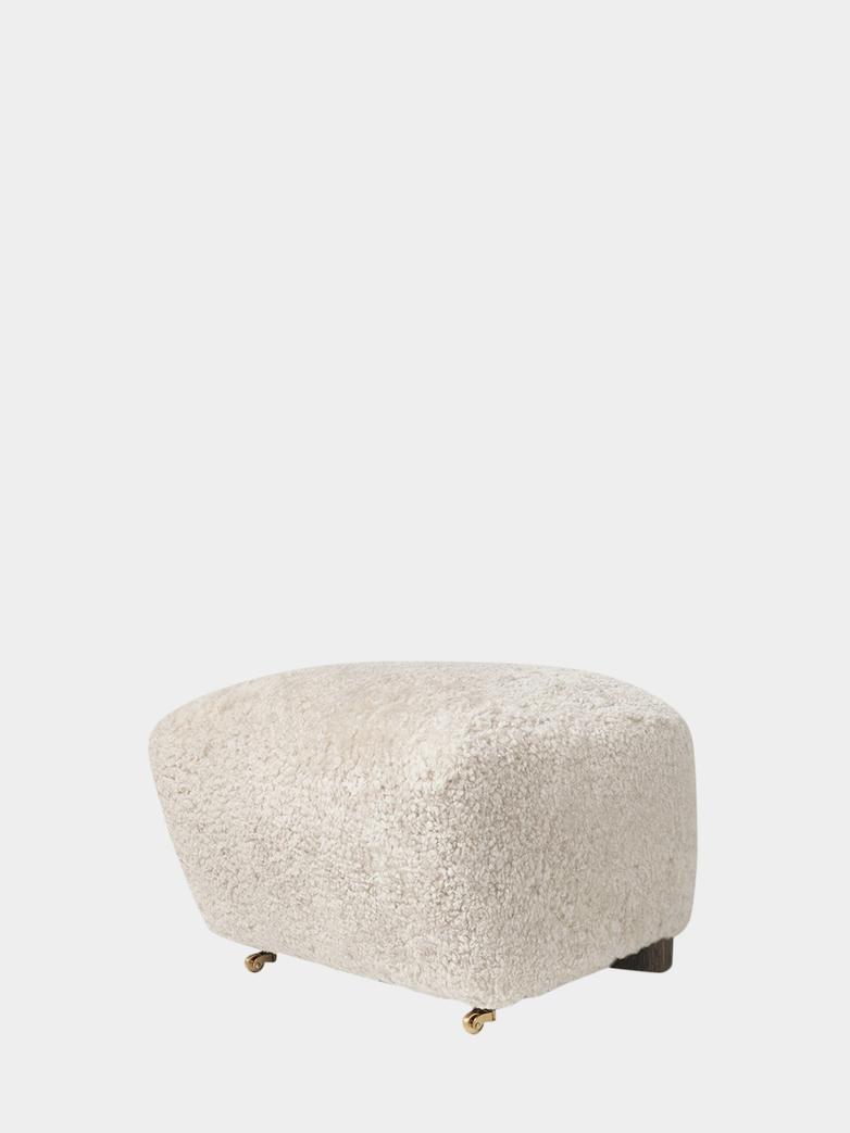 Sheepskin Off White - Smoked Oak