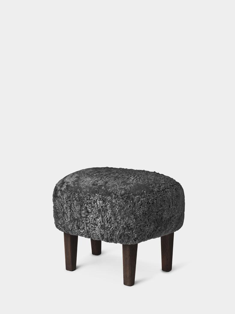 Sheepskin Anthracite - Smoked Oak
