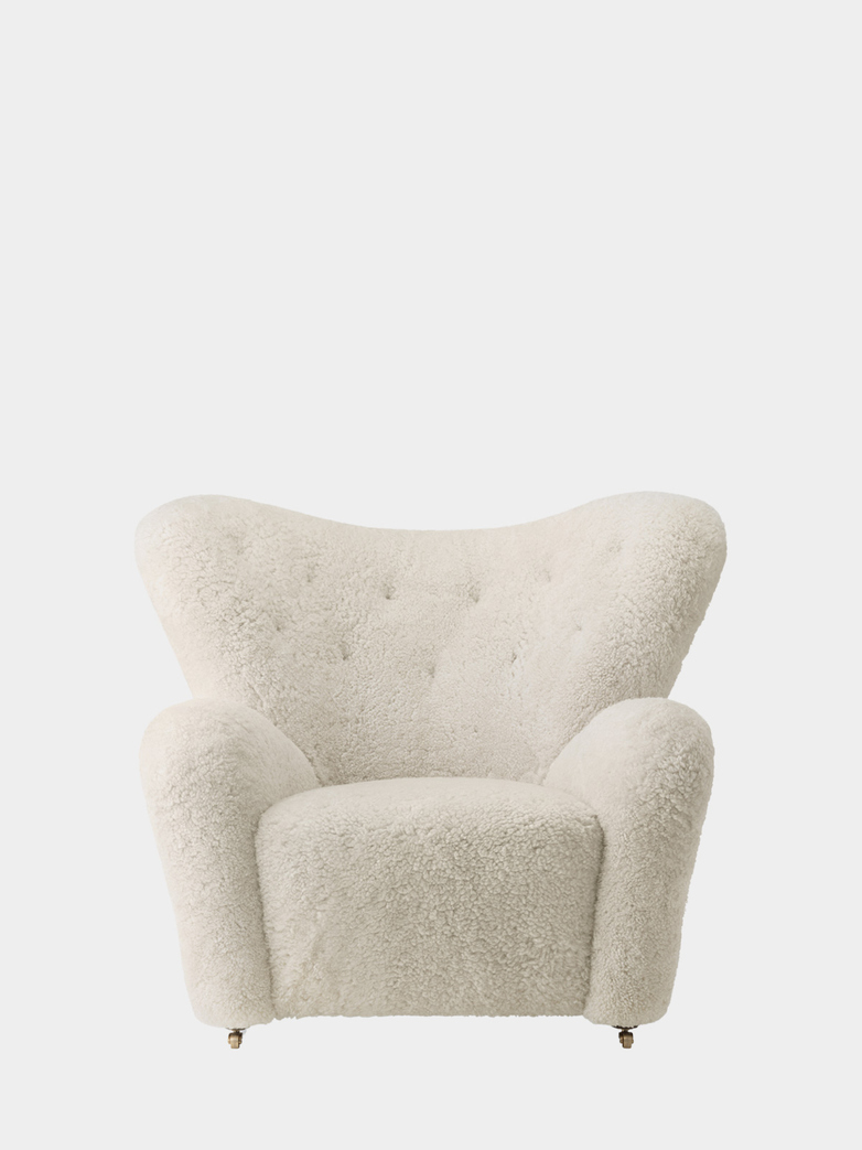 The Tired Man Armchair - Sheepskin