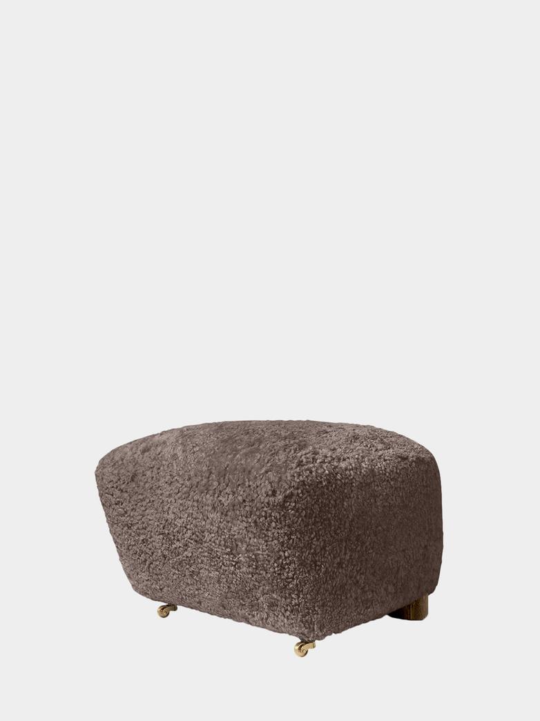 The Tired Man Footstool - Sheepskin