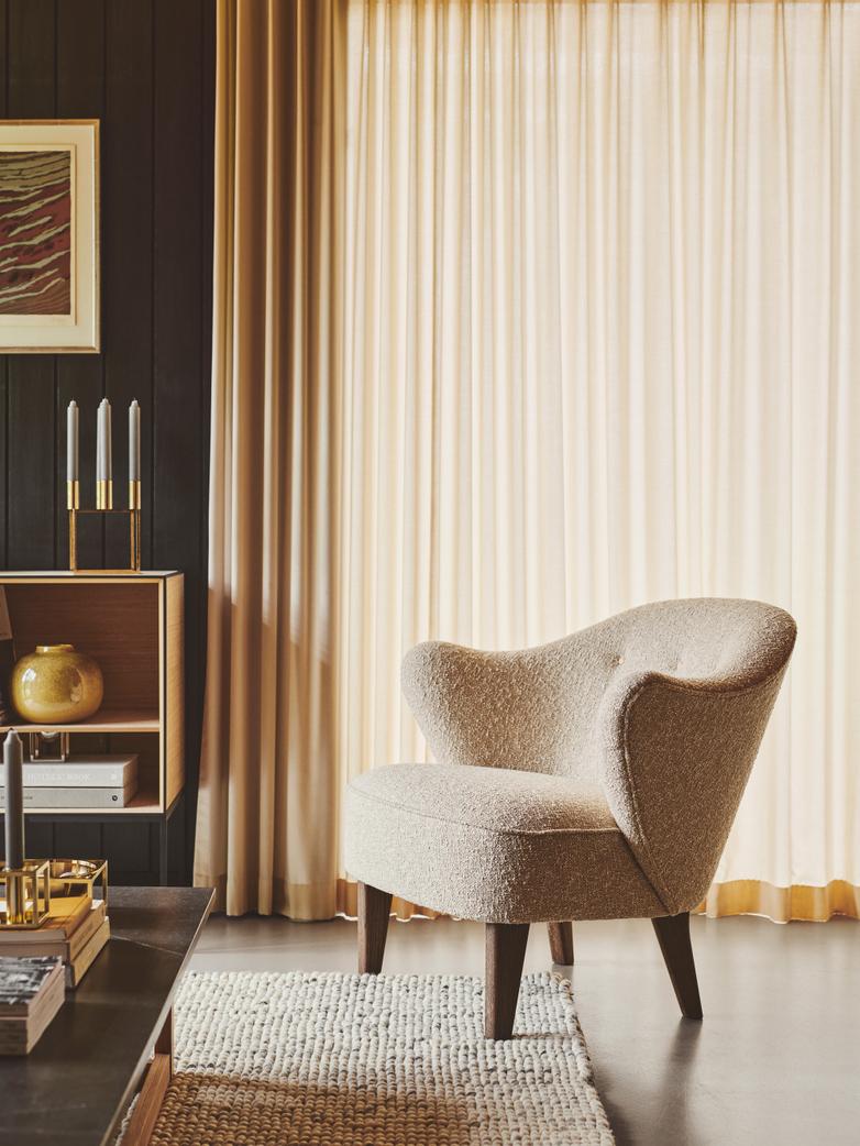 Ingeborg Lounge Chair - Bouclé
