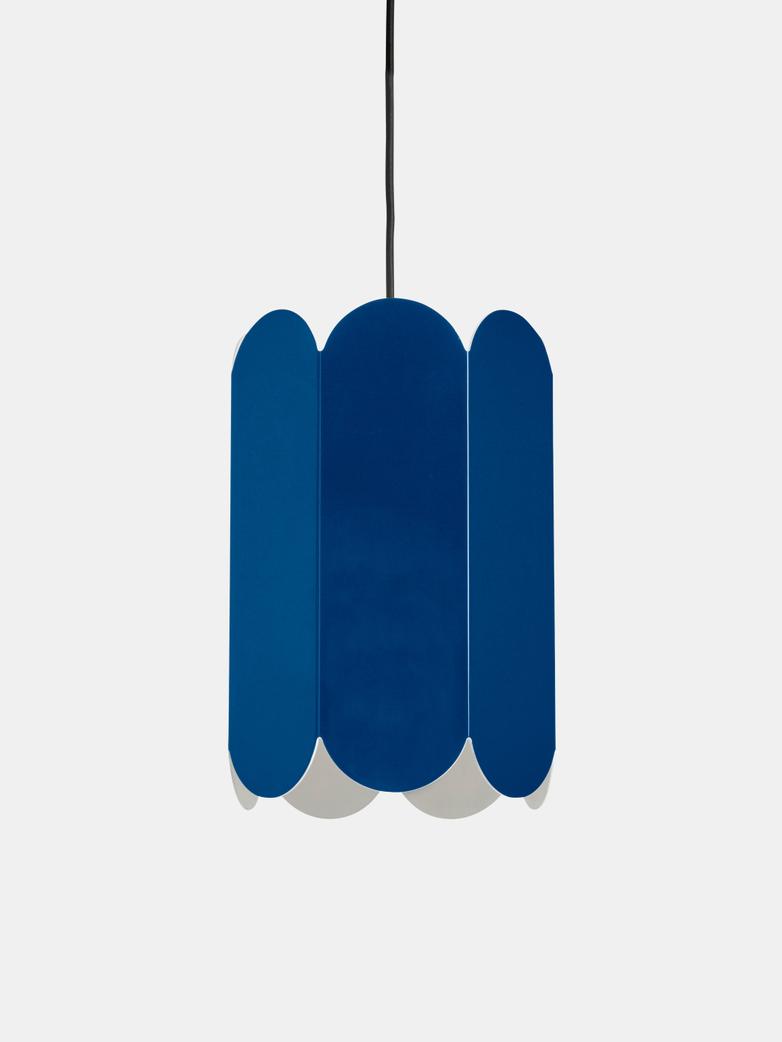 Arcs Cobalt Blue Pendant