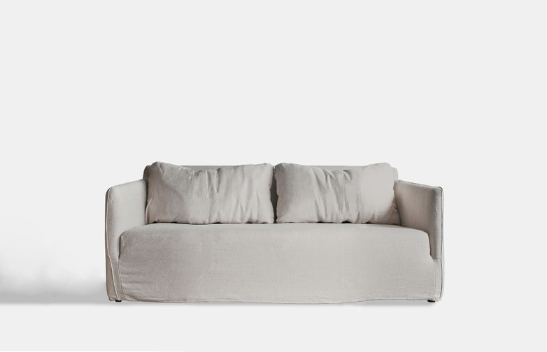 Box Sofa – 1,5 Seater - Sand