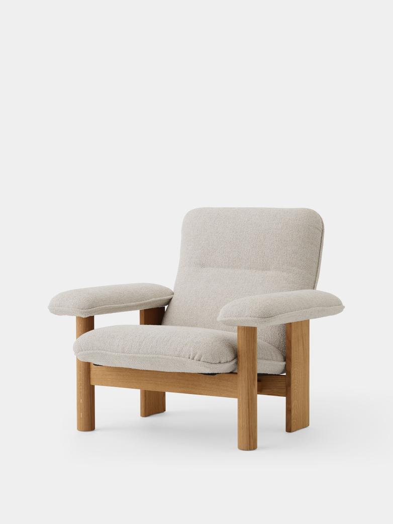 Brasilia Lounge Chair - Moss