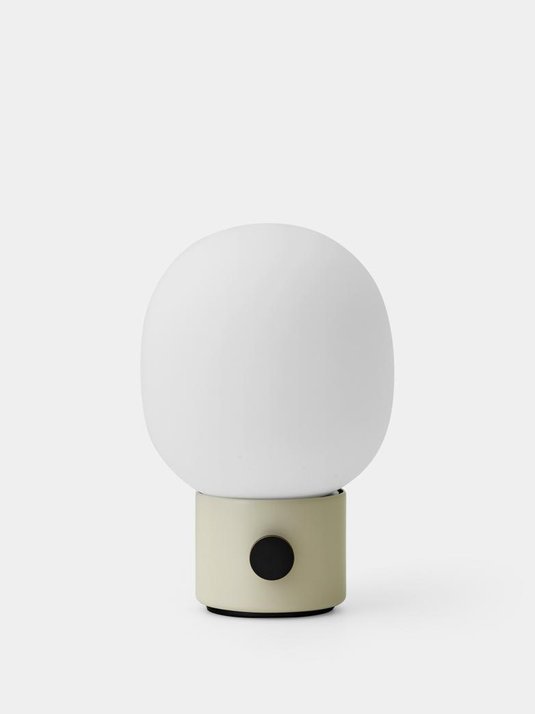 JWDA Table Lamp Portable - Alabaster White