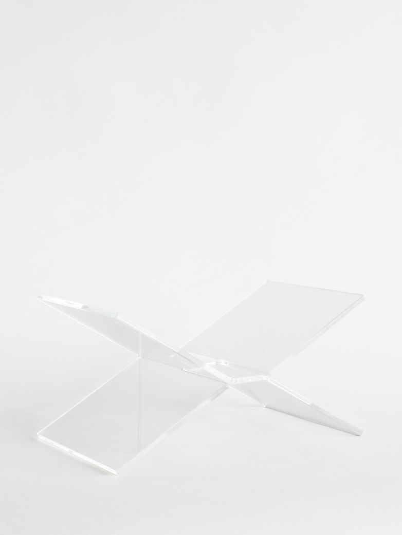 X Bookstand - Clear