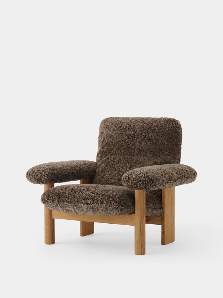 Brasilia Lounge Chair - Sheepskin