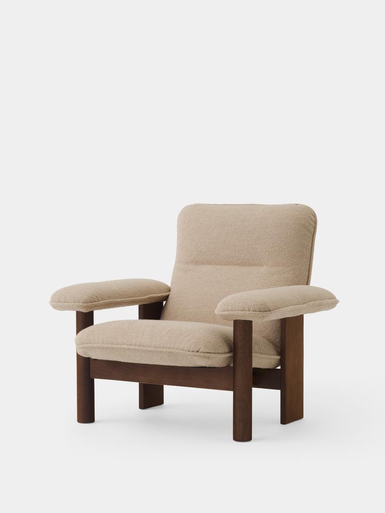 Brasilia Lounge Chair - Bouclé