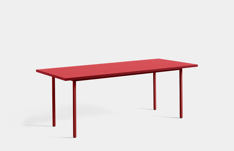 Two-Colour Rectangular Table