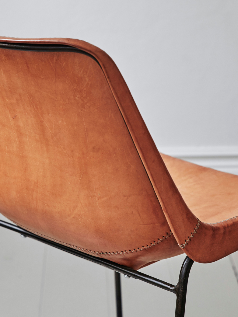 Leather Chair - Nature