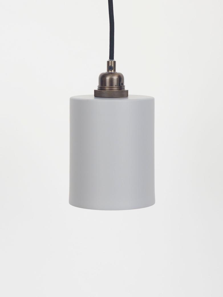 Cylinder Shade Grey