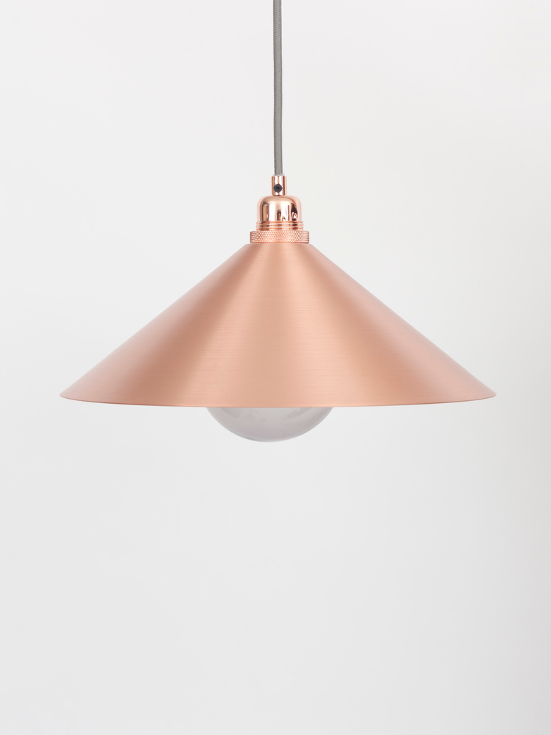 Cone Shade Copper
