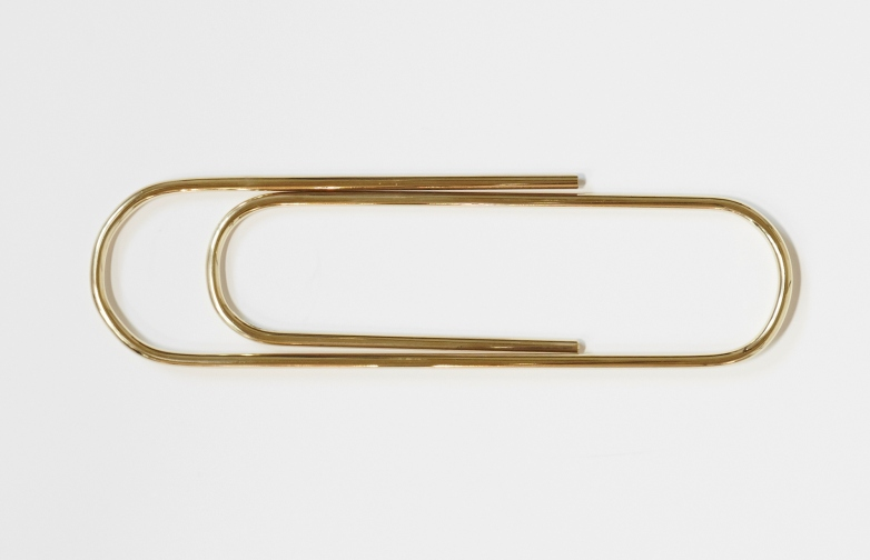 Paperclip Brass
