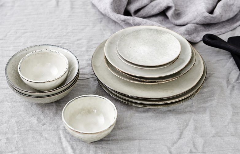 Nordic Sand Tableware