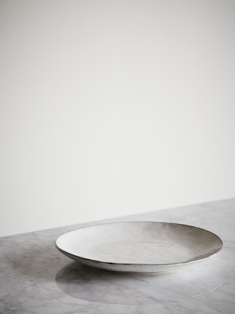 Nordic Sand Ceramic Plates Dinner Plate