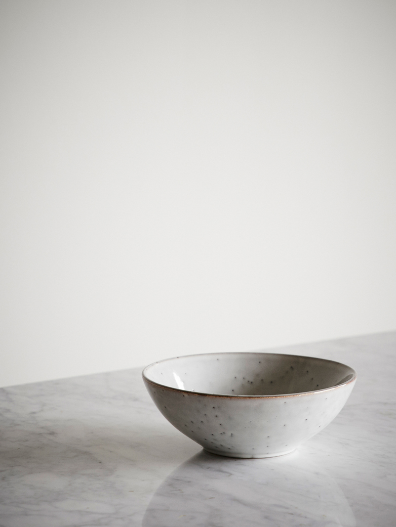 Nordic Sand Ceramic Bowl - Medium