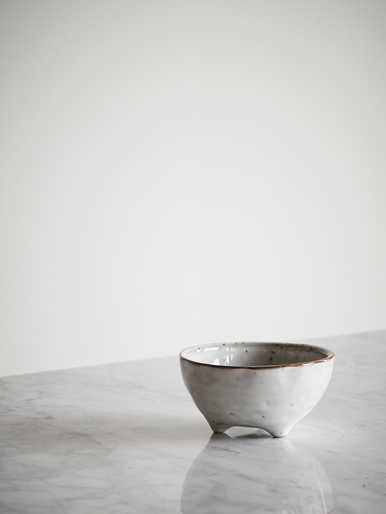 Nordic Sand Ceramic Bowl - Small