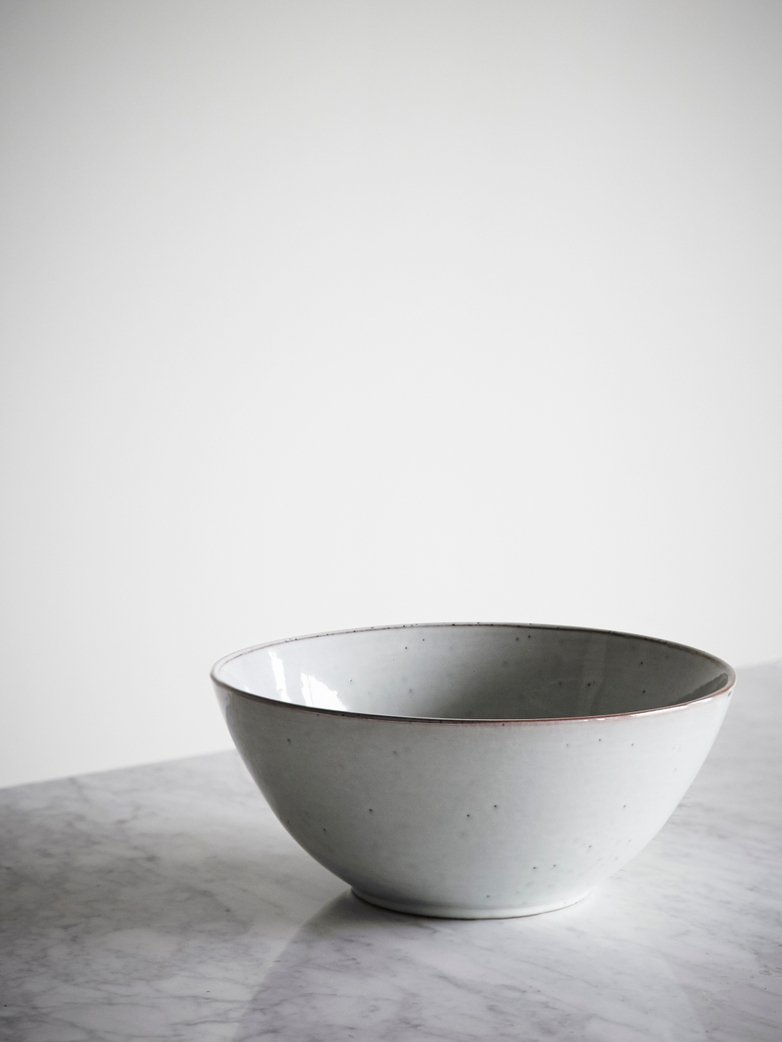 Nordic Sand Ceramic Bowl - Large