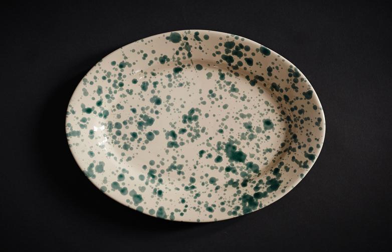 Spruzzi Tableware - Oval Plate