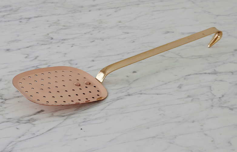 Slotted Spoon Copper