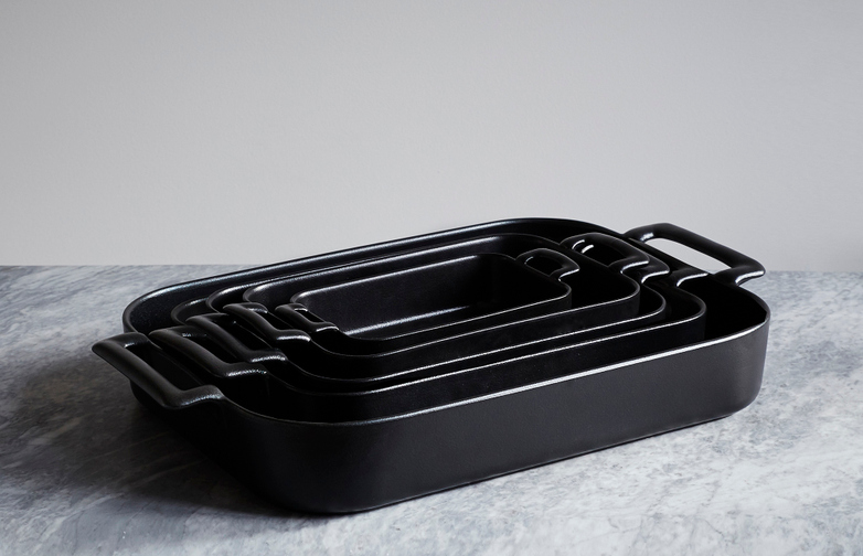 Belle Cuisine Roasting Dish Black