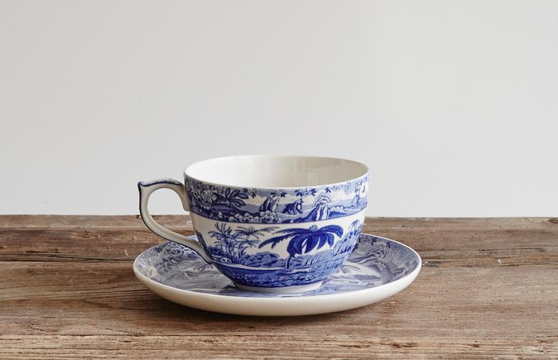 Jumbo Cup with Saucer