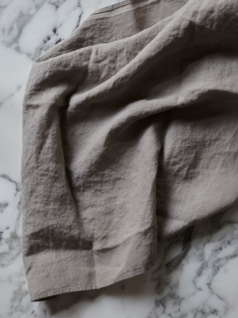 Basic Dish Towel - Taupe