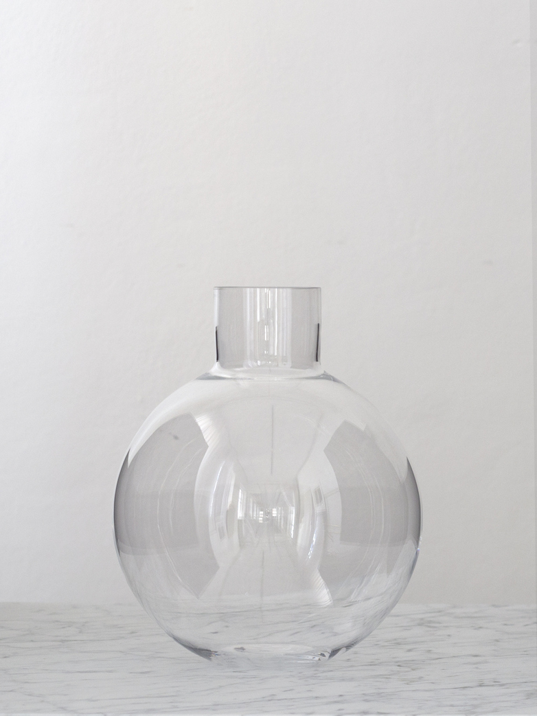 Pallo Vase Clear Large
