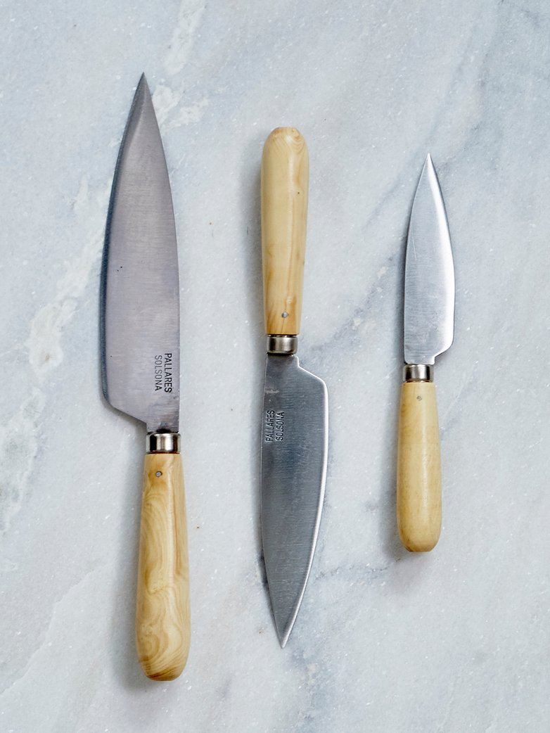 Traditionell Kitchen Kniffes 3-pack