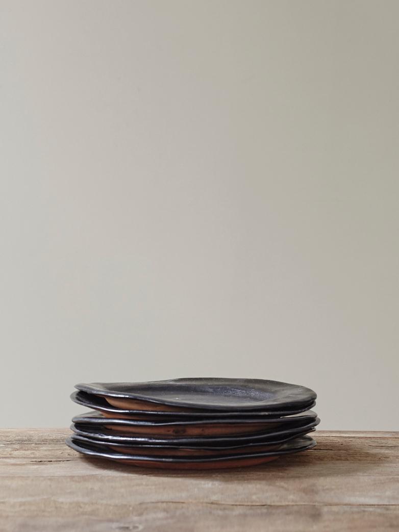 Black Tableware Assiette