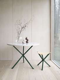 Round Dining Table Marble - 100cm