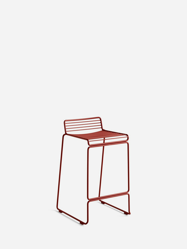 Hee Bar Stool – Rust - 65 cm