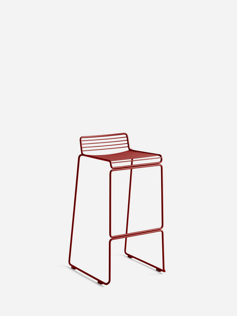Hee Bar Stool – Rust - 75 cm