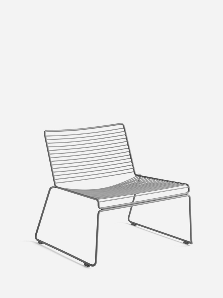 Hee Lounge Chair – Asphalt Grey