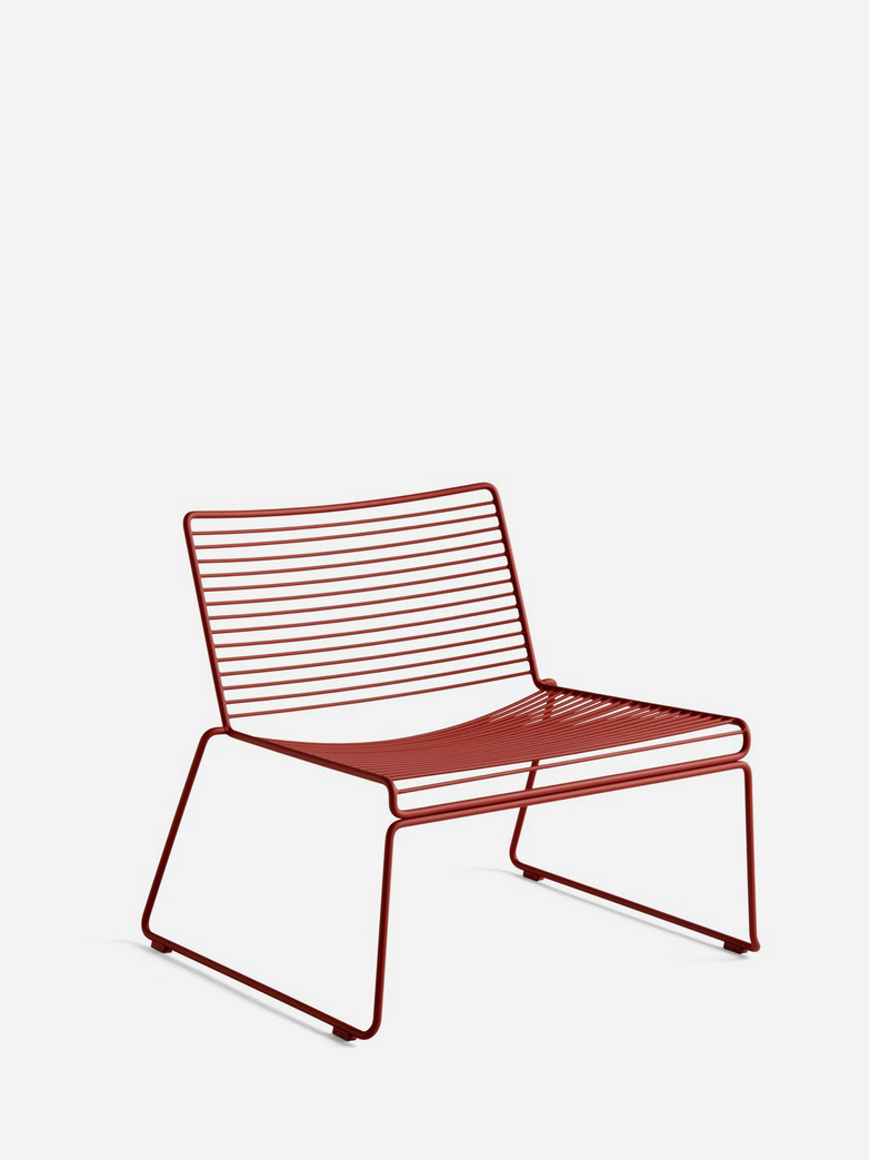 Hee Lounge Chair – Rust