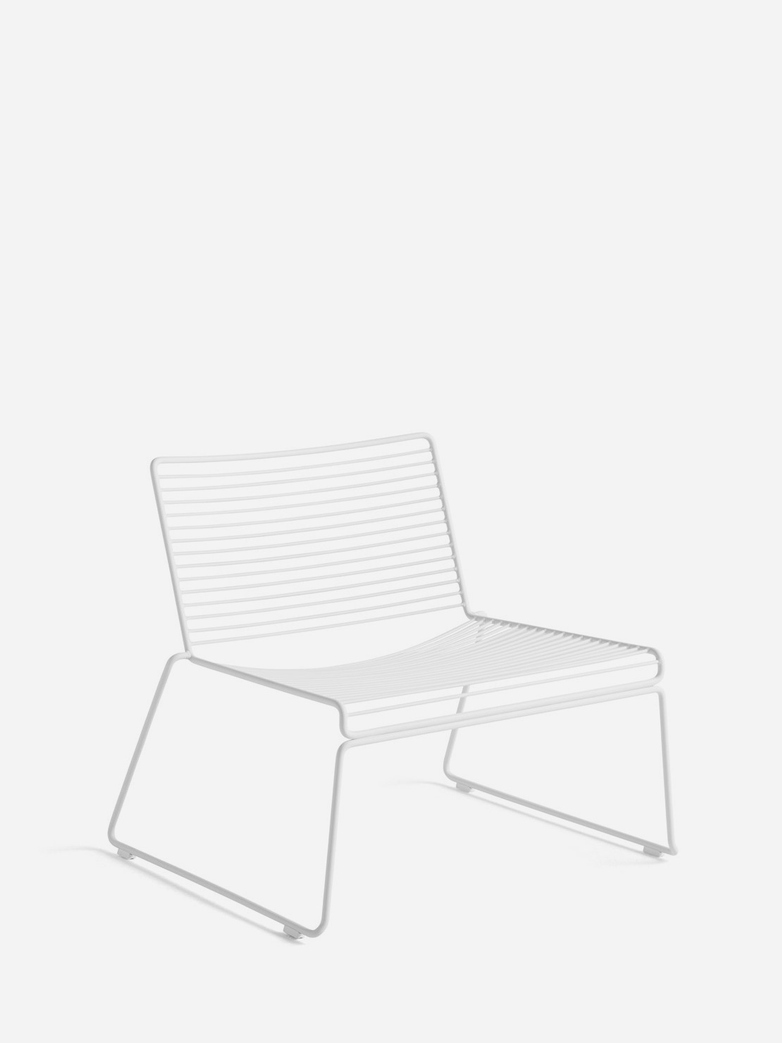 Hee Lounge Chair – White