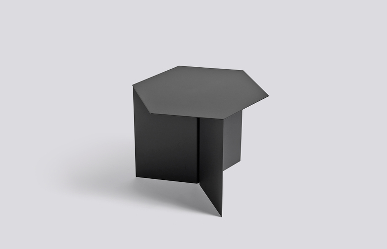 Slit Table Hexagon - Black