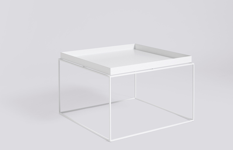 Tray Table White - 60x60 cm