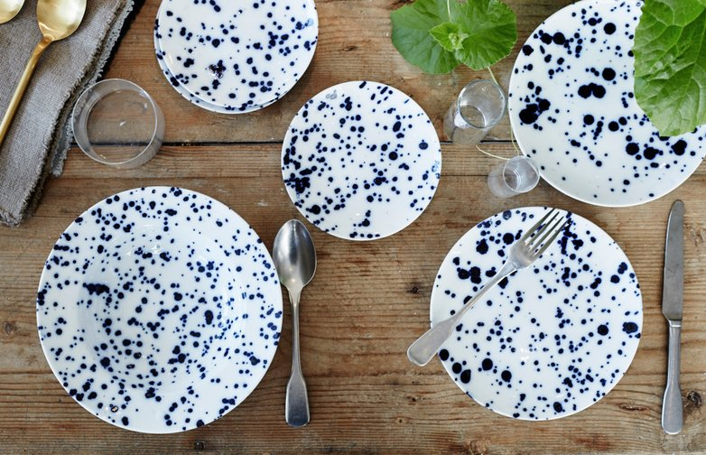 Blue Magma Tableware