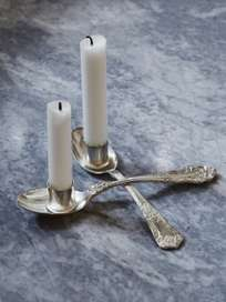 Candle Holder 2 Spoons