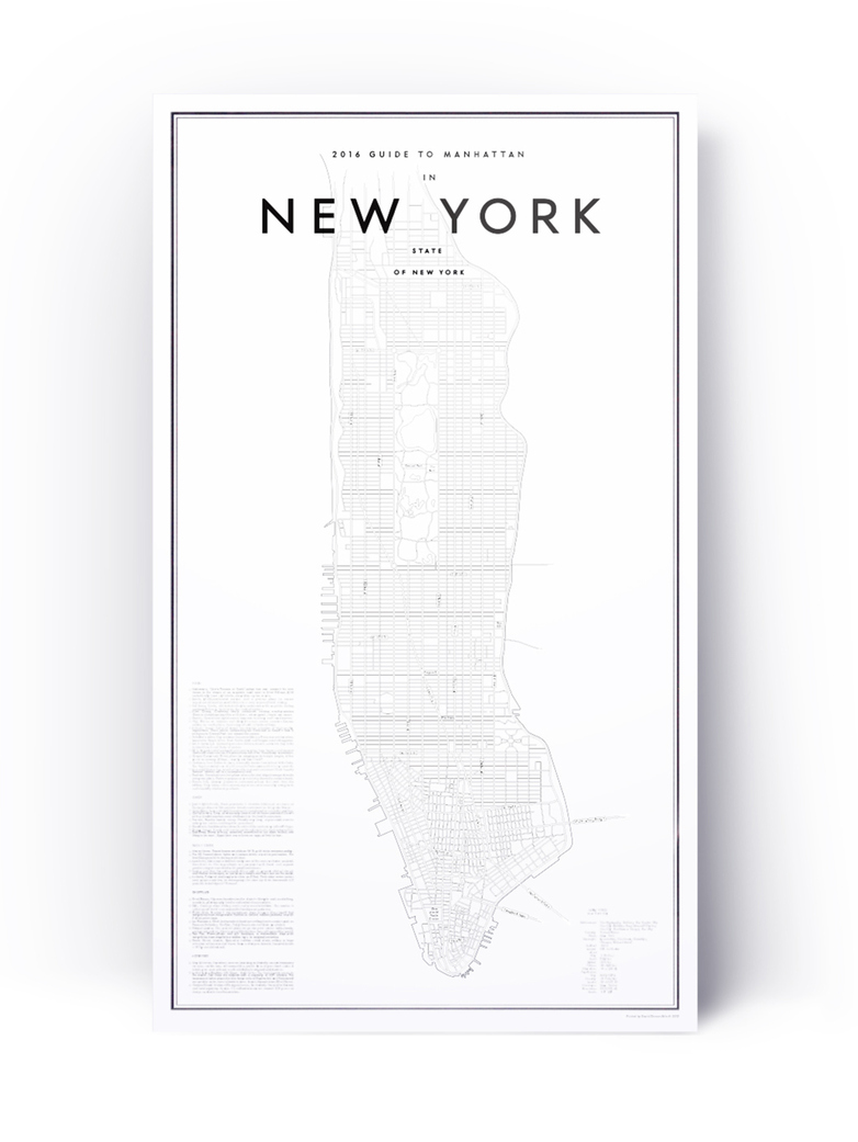 Guide to New York – 41 x 70