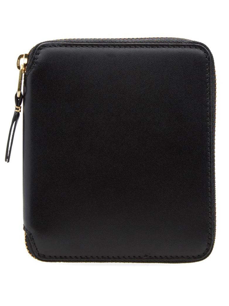 Classic Zip Around Wallet Black