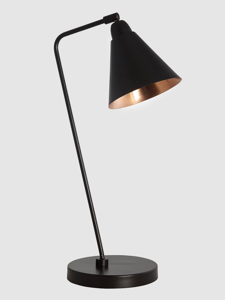 Game Table Lamp Black / Copper