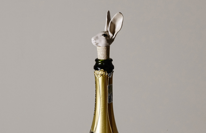 Bunny Bottle Stopper