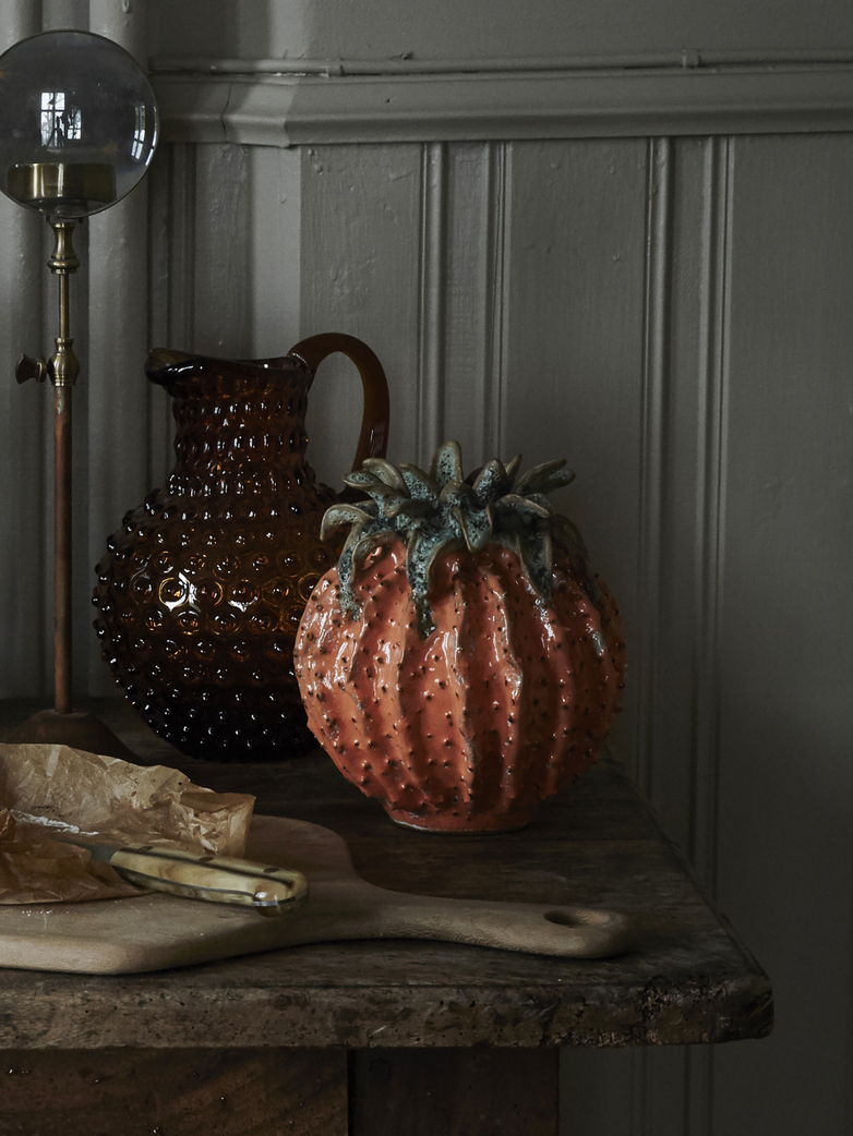 Pineapple vase ceramic
