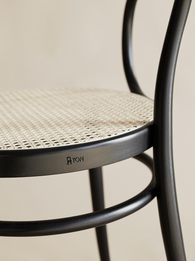 Chair No 30 – Black – Cane