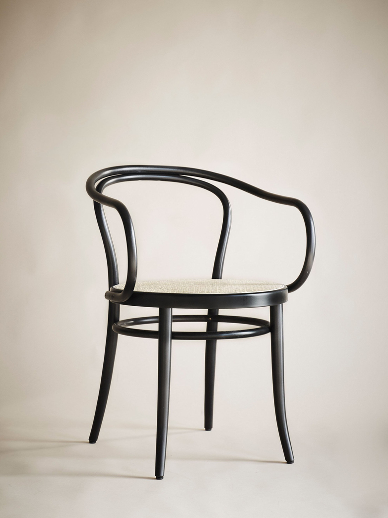 Chair No 30 – Black – Cane